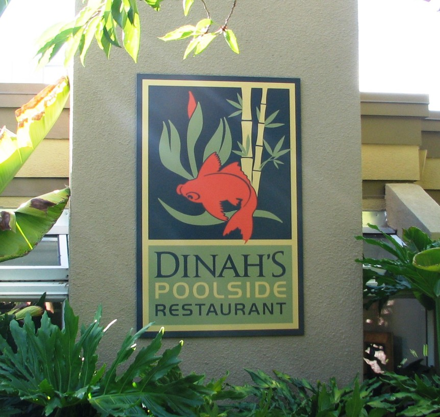 Dinah 39 S Hotel Palo Alto New Signs New Look Signs Unlimited