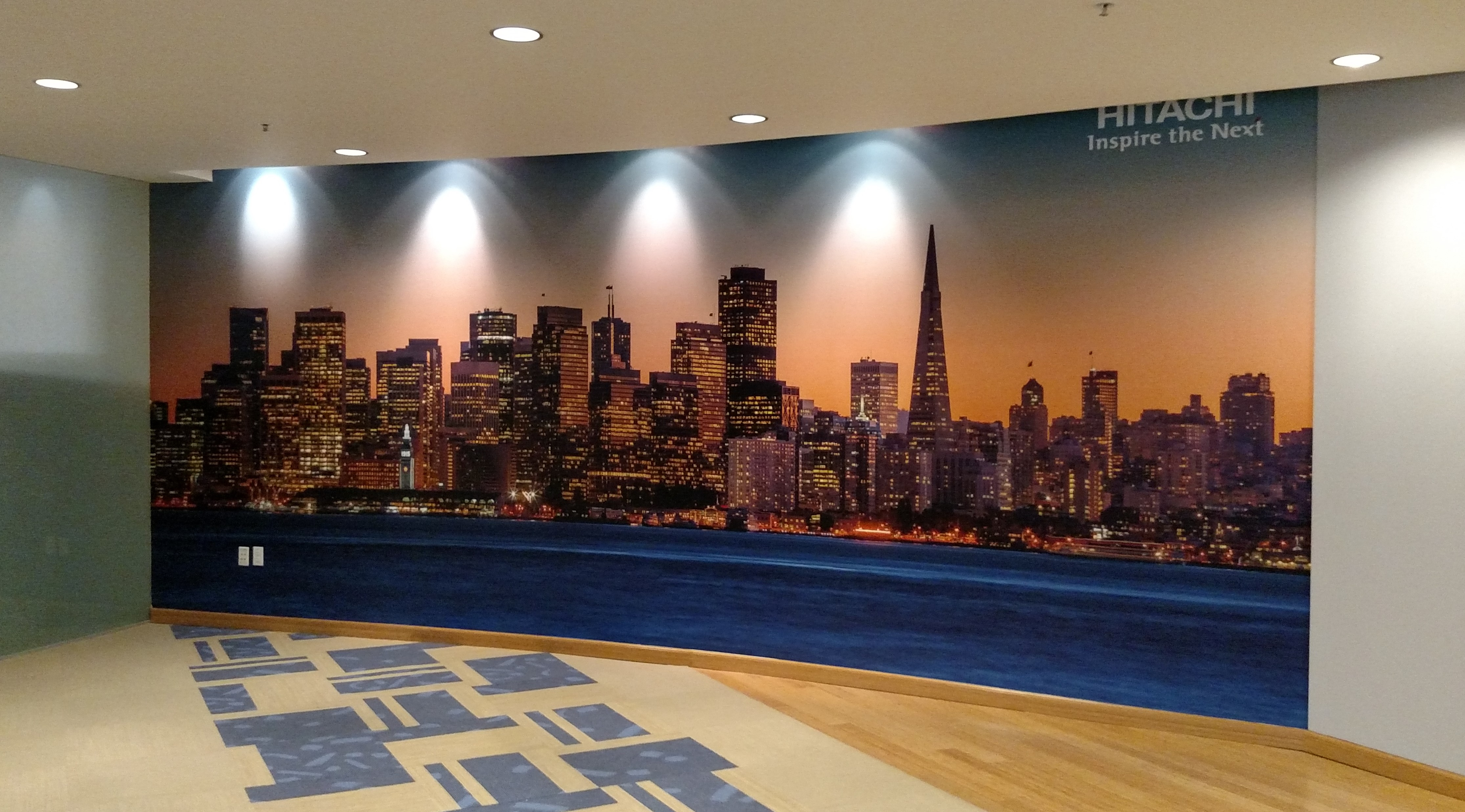 Wall Murals Hitachi Signs Unlimited