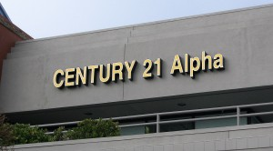 LED Channel Letters - Century 21
