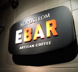 Custom Logo Sign - Nordstrom Coffee Bar