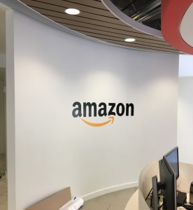 Thin Profile Lobby Sign - Amazon