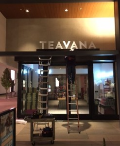 Non-lit Channel Letters - Not Raised - Teavana