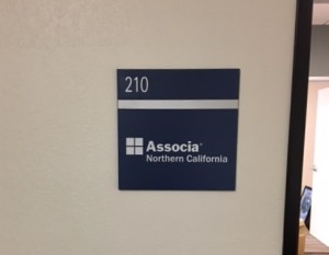 Suite Sign - ADA - Associa