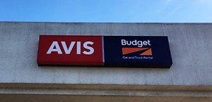 Building Sign - Avis