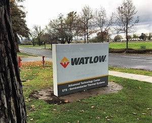 Monument Sign - Watlow - STS