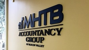 Lobby Sign - MHTB Accountancy